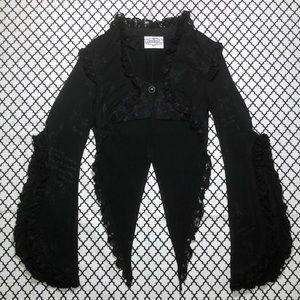 Frill (H. Naoto) Rare Black Vest Jacket <3